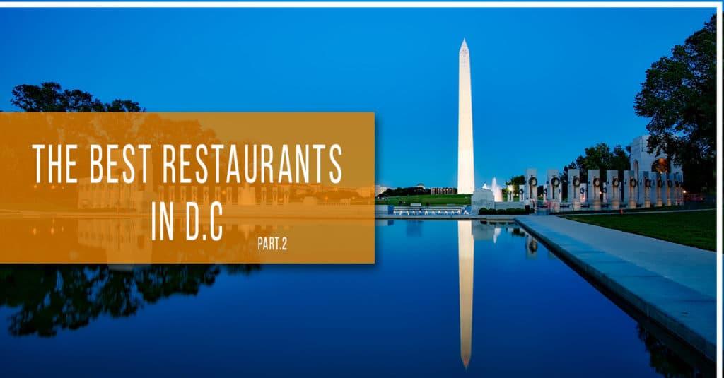 Georgetown Washington Restaurants Best
